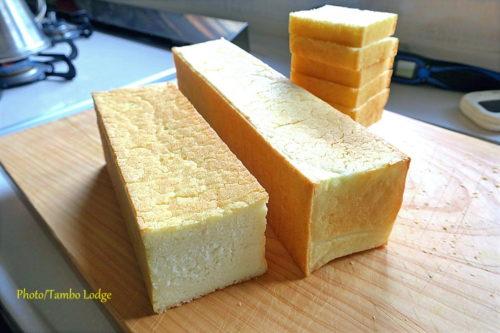 米粉100%のスリム食パン