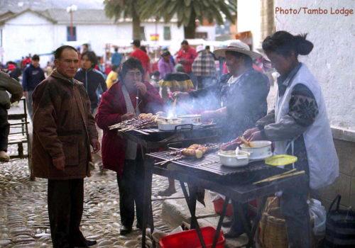 ペルーの屋台料理