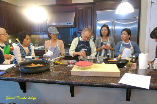 サンフランシスコで料理教室