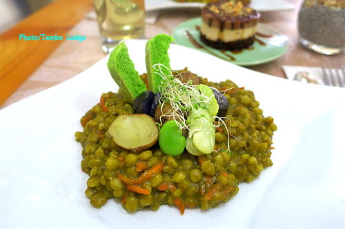 リマのヴィーガン・レストラン「Sana vegan café」