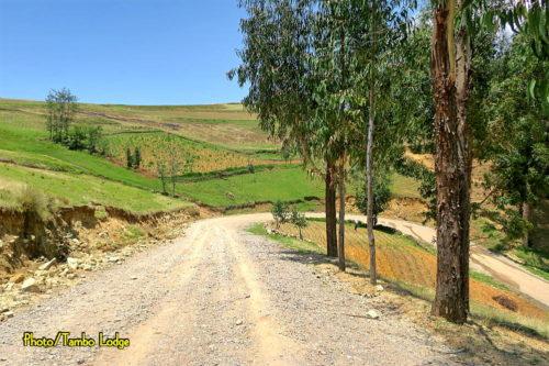 Cochas村の散歩