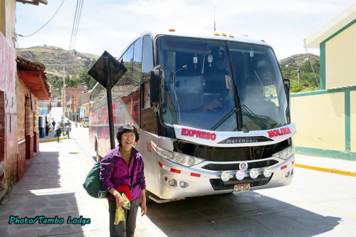 スリル満点長距離バスの旅(1)