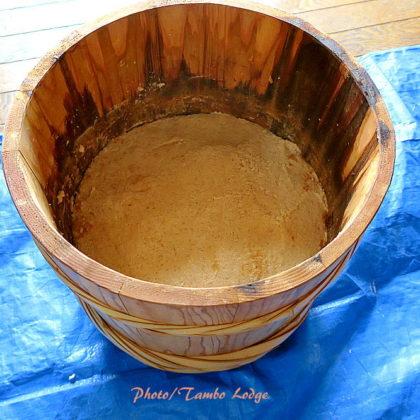 米味噌&ひよこ豆味噌の仕込み