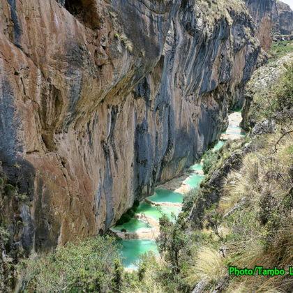 超秘境のMillpo渓谷(2)
