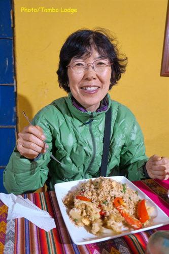 Andamarcaでの最後の夕食