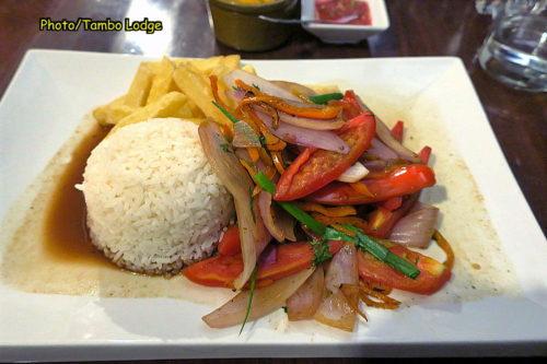 Ayacuchoで夕食