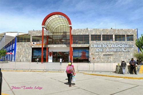 バスターミナル&Café Ayacuchano