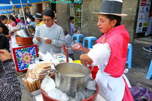 アルマス広場のアイスクリーム