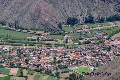 聖なる谷の風景