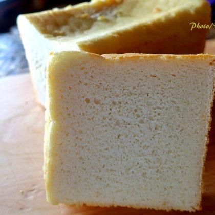 米粉100%の食パンの試作