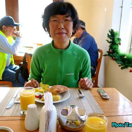 Arequipaのホテルでの朝食