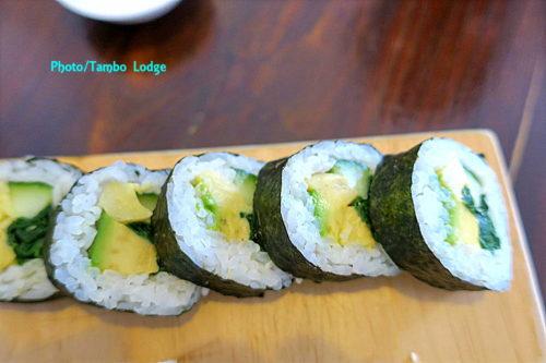 ビーガン寿司のお店「Buda profano」