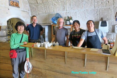 再びビーガン寿司のお店「El Buda profano」