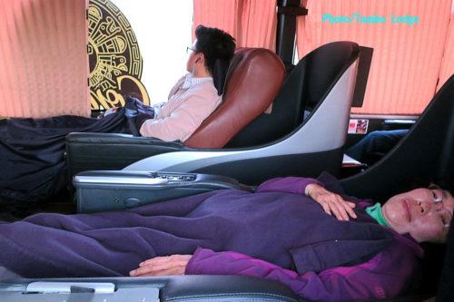 ArequipaからLimaまでの長距離バスの旅