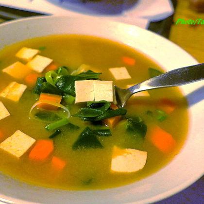 夕食は再びスープ専門店の「Mr. soup」へ