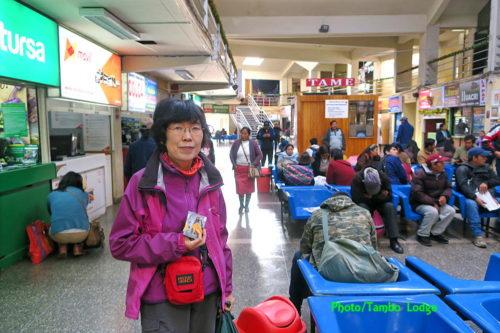 CuscoからArequipaへ長距離移動