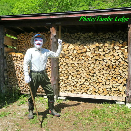 薪作り終了!!