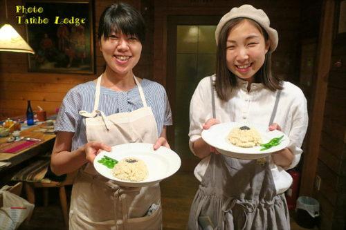 タンボ・ロッジで料理教室(2)