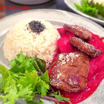 ペルーの郷土料理をベジで再現