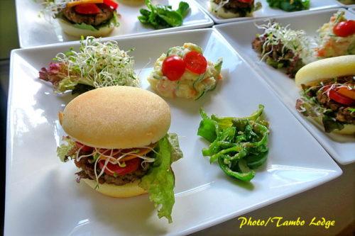 米粉のミニハンバーガー