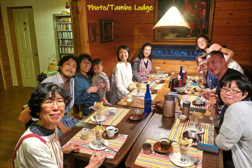 タンボ・ロッジで料理教室(3)