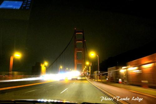 サンフランシスコの夕暮れ
