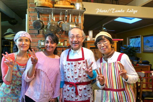 ゲストハウスで料理&スイーツ教室(2)