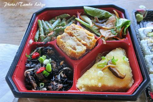 和風のお惣菜でブランチ