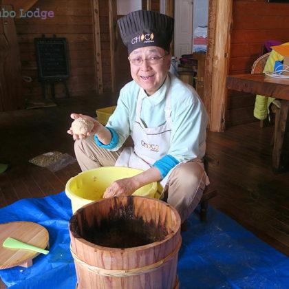 米味噌作り