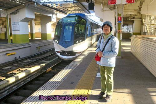 リゾート特急に乗って名古屋へ