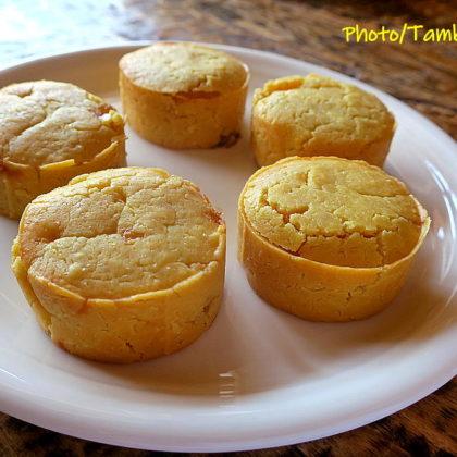 パイナップルケーキ米粉版の試作
