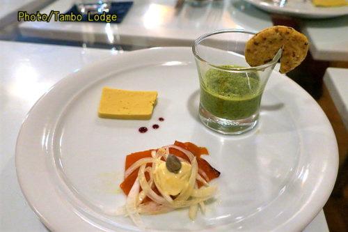 森の中のレストラン クオーレ デルソルで特別なディナー
