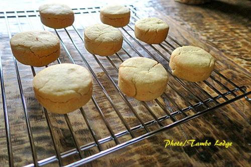 米粉のパイナップルケーキ完成