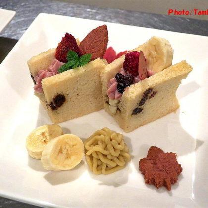 米粉のレーズン・シフォンケーキ