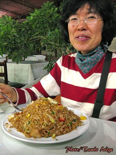 Ayacuchoでの夕食