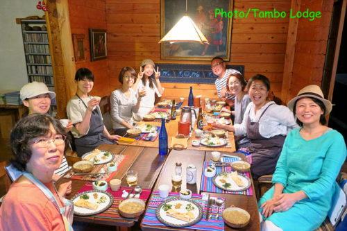 タンボ・ロッジで料理教室
