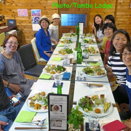 クオーレ・デルソルで教室後の夕食会