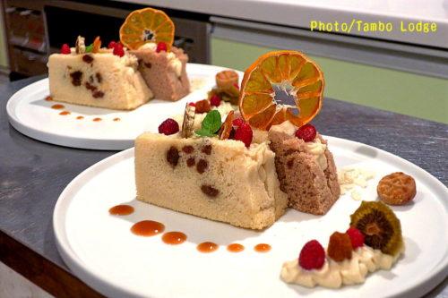 シフォンサンドケーキ