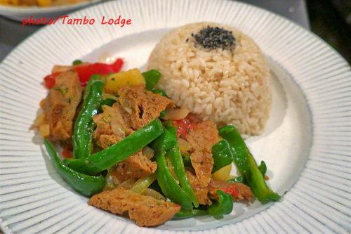 ペルーの大衆食Lomo saltado