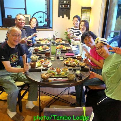 穀菜茶房 こと葉で夕食