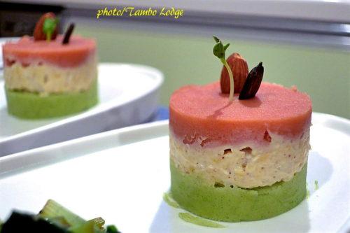 ペルー風マッシュポテトの詰め物(Causa rellena)