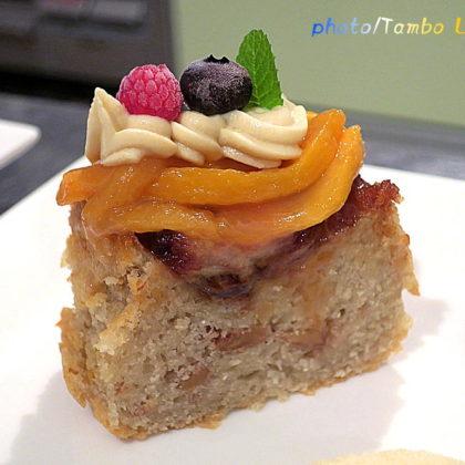 キャラメルバナナのパウンドケーキ
