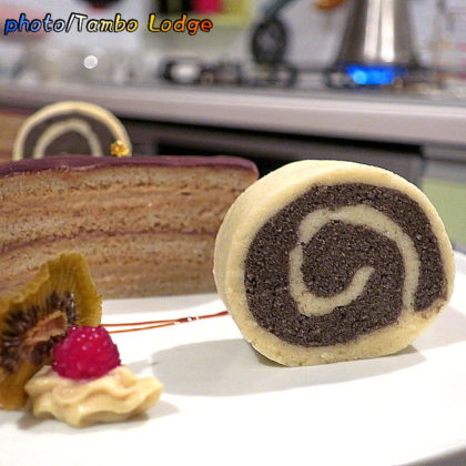 米粉のマシュマロロールケーキ