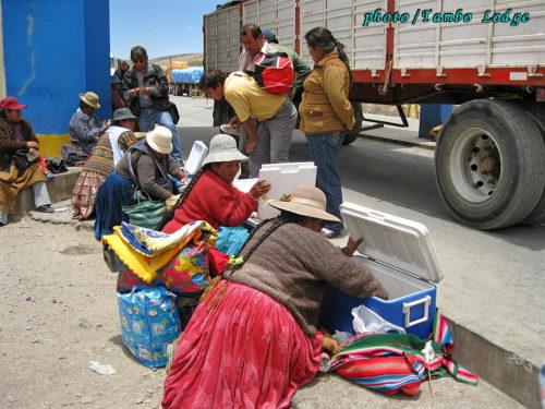 ボリビアの首都、ラパスへ