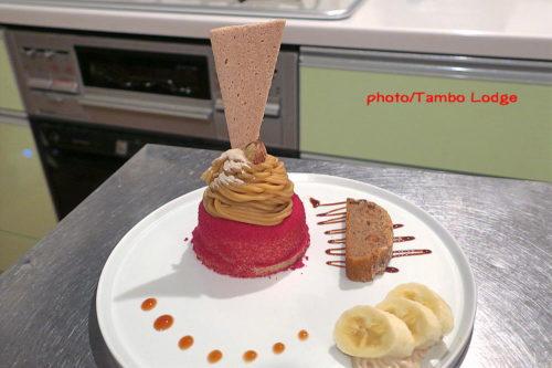 マンゴームースの米粉スイーツ