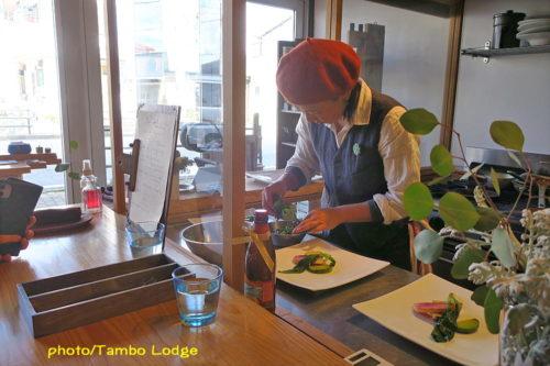 自然食レストラン「Matsu 松」の冬至ランチ