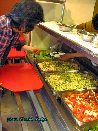ラパスのベジタリアンレストラン