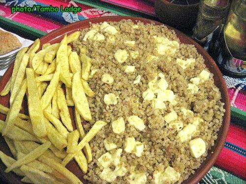 スークレのベジタリアンレストラン「El Germen」(4)