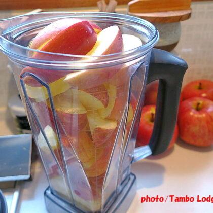 オーガニックのリンゴ(サンフジ)のジャム作り
