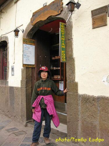 クスコのベジタリアン・レストラン「Encuentro」